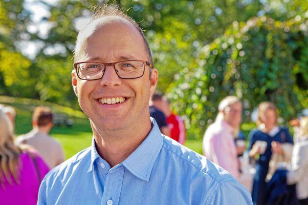 Markus Hoffman, vattenexpert på LRF.
