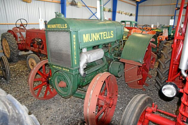 En Munktells Typ 22 med 2-cylindrig tändkulemotor var det objekt som drog in mest pengar, totalt 241 000 kronor.