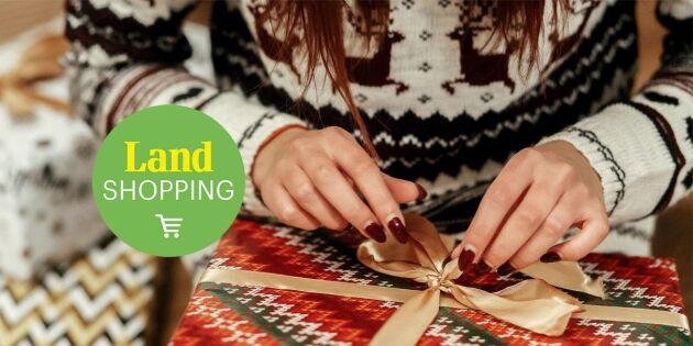 Årets julklappsbok enligt Land Shopping