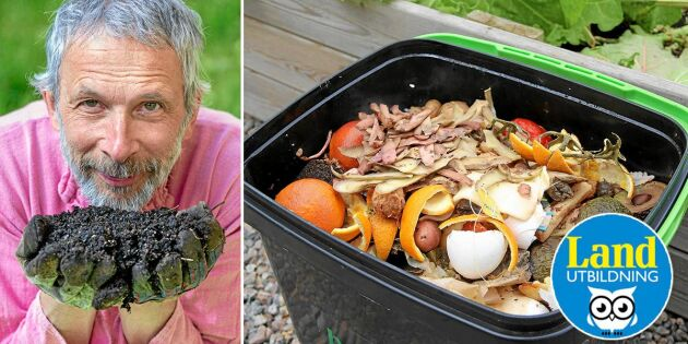 Lär dig kökskompostera med bokashi – gå Lands onlinekurs