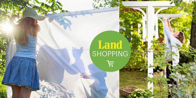 5 skäl att torka tvätten utomhus