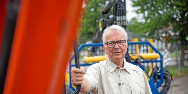 Håkanssons förlorade kampen mot traktorjätten