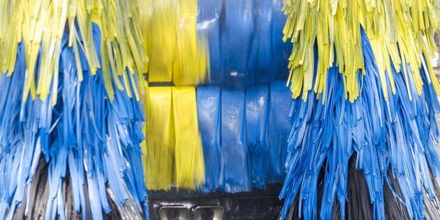 Så får du bilen – riktigt – ren i automattvätten! 2 smarta tips