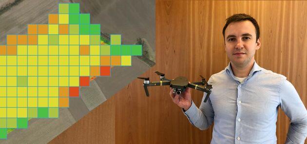 Igor Tihonov är expert på grafiska informationssystem och jobbade tidigare med att utveckla bostadssajten Hemnets kartfunktioner. Nu jobbar han med att utveckla precisionsodling för lantbruket.