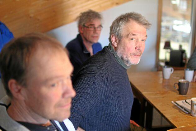 Per-Ola Lisjö (t h) fungerar som en slags ledare för 9,5-gruppen.