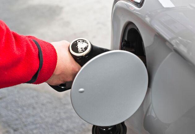 Början på oktober bjöd på flera höjningar av dieselpriset.
