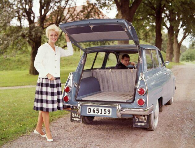 Saab kombi var höjden av trendighet 1968.