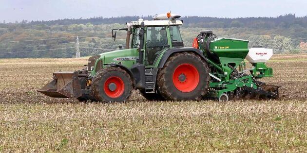 ATL TV: Ställer om växtodlingen med två såmaskiner