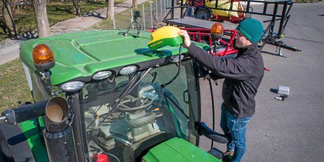 Efter stölderna – nu slopar John Deere mobila GPS:er
