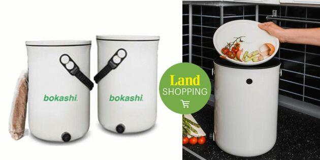Bokashi 2.0 är här! Kompostera dina matrester snyggt på köksbänken