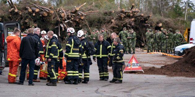 MSB: Skogsmaskiner kan ha orsakat bränderna