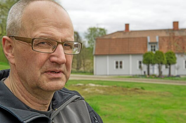 Palle Borgström, ordförande i LRF,