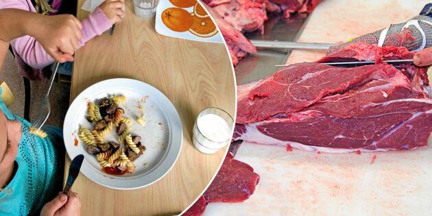 Här är kommunerna som köper svenskt kött – för att stötta bönderna