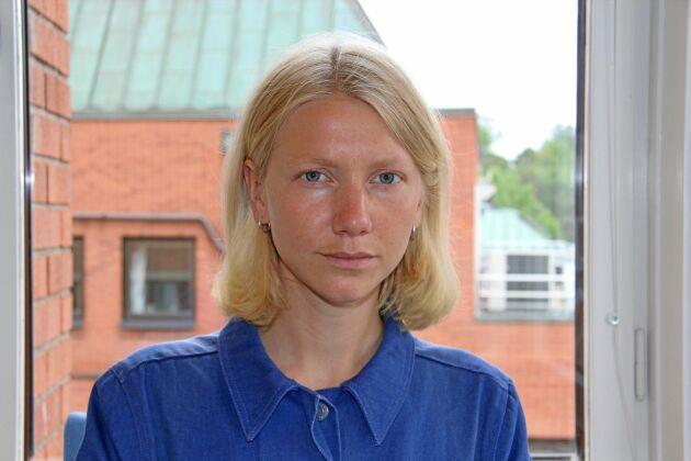 Land Lantbruks reporter Kristina Hansén.