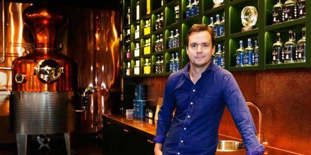 Han avslöjar hemligheten bakom världsberömda Hernö Gin
