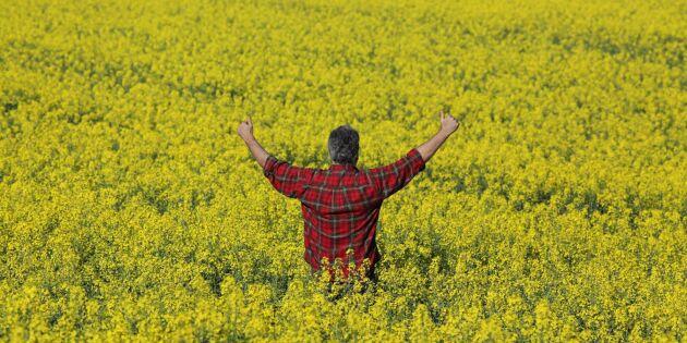 Positiva vibbar bland lantbrukare