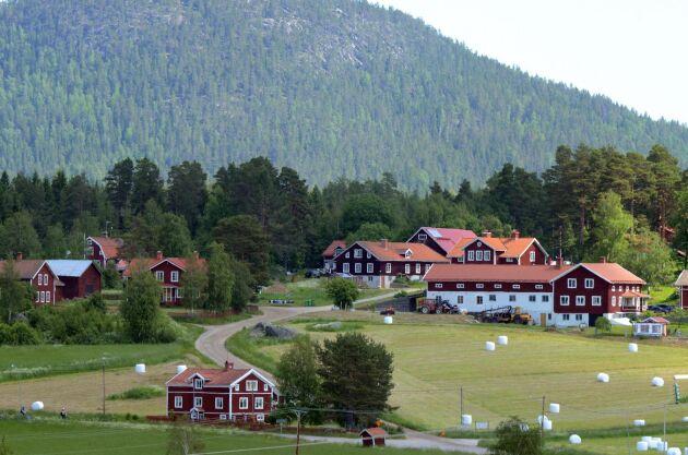 Järvsö i Hälsingland. Foto: Mostphotos