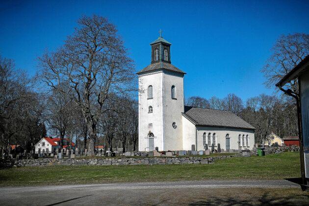 Ås kyrka, ett av Tages första kyrkojobb.