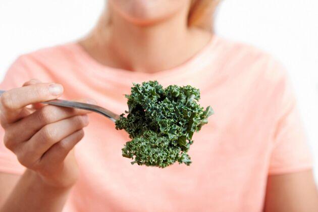 Ät bladgrönsaker för att hålla hjärnan ung!
