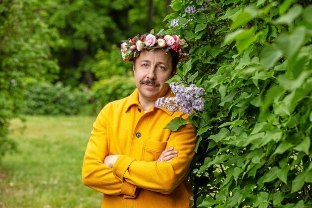 David Sundin, komiker, programledare, manusförfattare är sommarvärd den 22 juli.