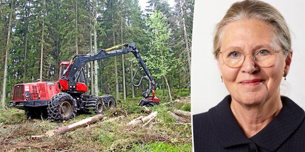 Sveaskog: Ny strategi ska inte påverka virkesuttag