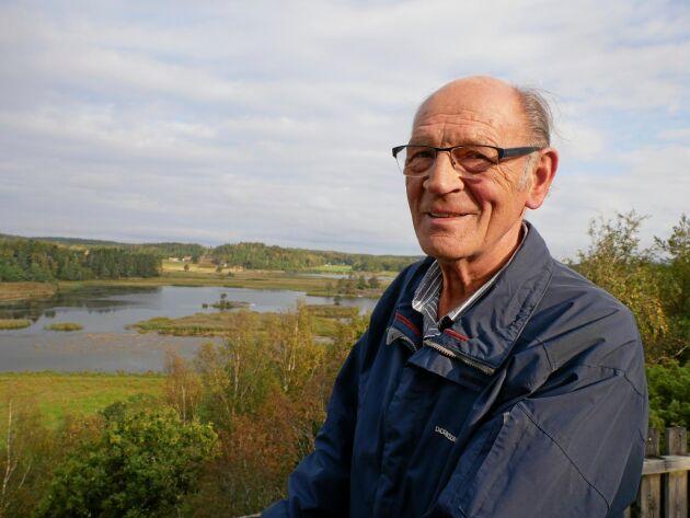 Kurt Göransson är 77 år, men han har inga planer på att gå i pension riktigt än.