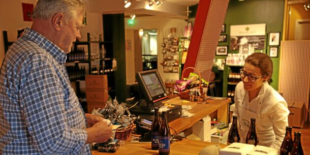 Eget öl lockar turister till finsk gårdsbutik
