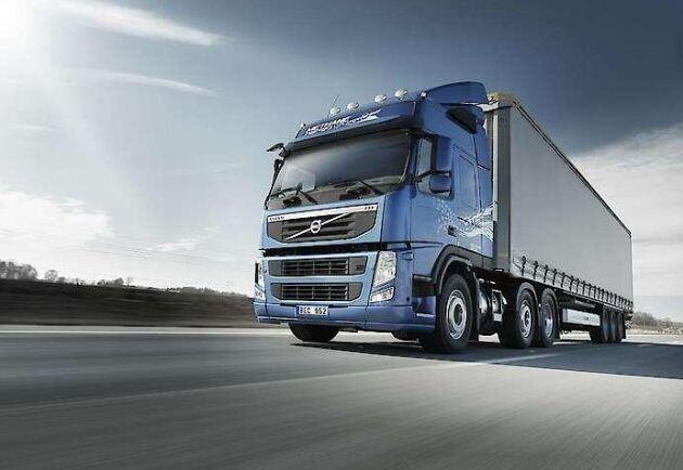 Volvos orderingång på lastbilar i Nordamerika ökade med 107 procent första kvartalet i år.