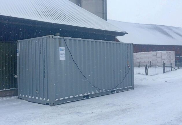 Odlingscontainern är i grunden en svensk innovation som har utvecklats i 15-20 år. Tack vare den högeffektiva, men tunna isoleringen som används i rymdraketer, fungerar containern lika bra i Kiruna som i de varmare delarna av Turkiet.