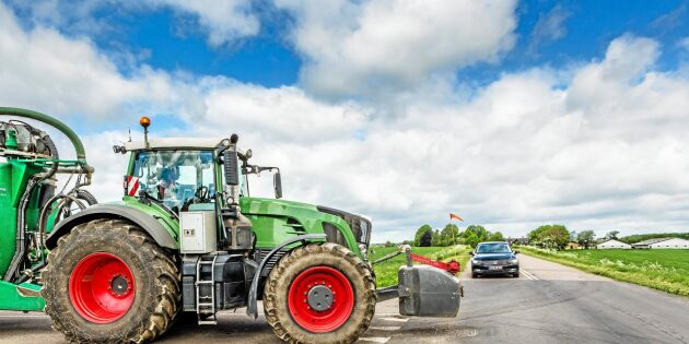 Så blir traktorer säkrare i trafiken