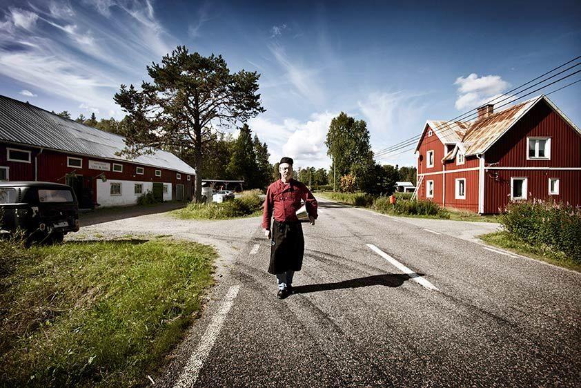 Bengt-Johnny Johansson på Örtagård Öst i jämtländska Kälarne.