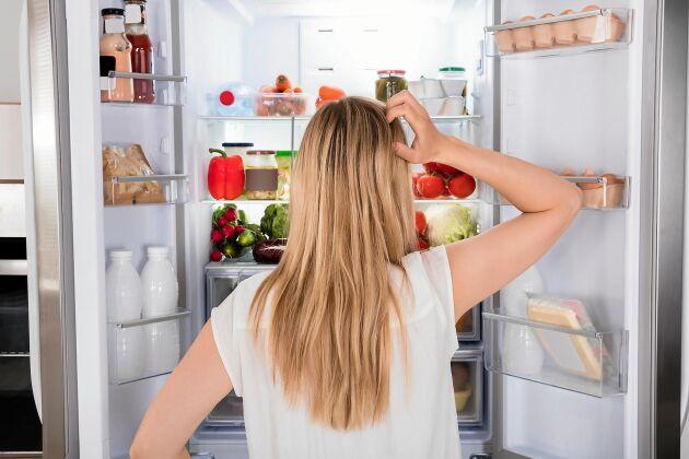 Har du rätt temperatur i kylen håller oftast maten längre än vad som står på bäst före-stämpeln.