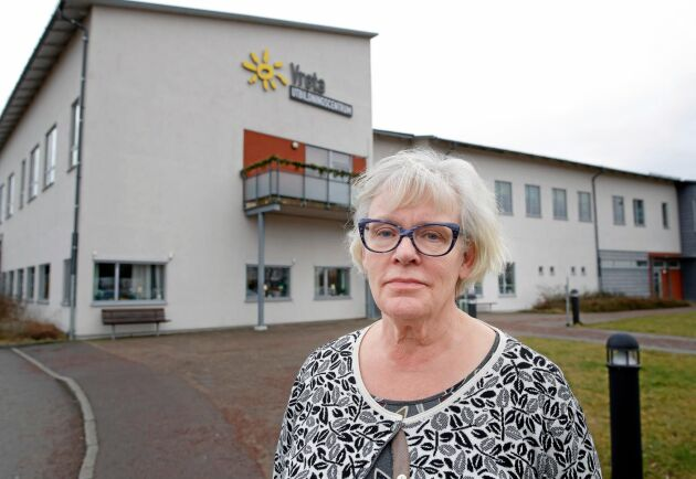 Vretas rektor Elisabeth Bringer Hallberg.
