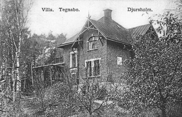 Alice Tegnér var gift med skalden Esaias Tegnérs sonson. I Djursholmsvillan fick hon chans att utveckla sin musikaliska talang. Bild från 1813.