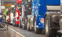 Mercedes jagar Volvo och Scania