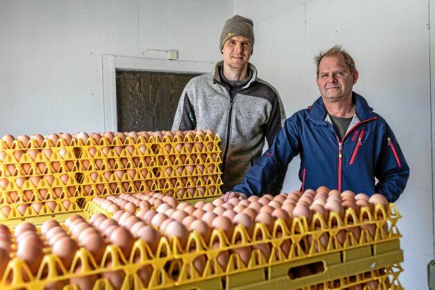 Torbjörn Hansson och brorsonen Tobias Hansson har kommit en bit på vägen med ägarskiftet.