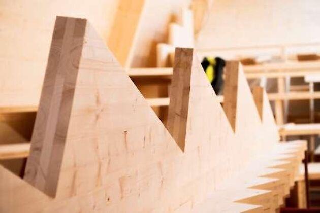 Distansutbildningen har sin bas i värmländska Sunne och anordnas i samarbete med träbyggindustrin.