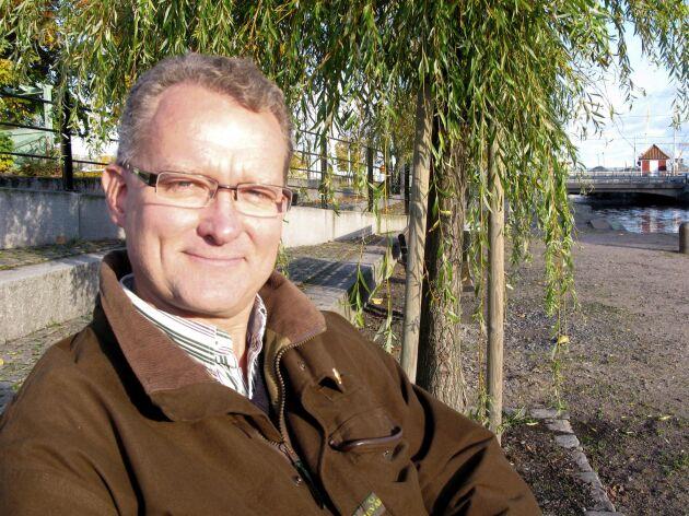 Lennart Acksell, internationell samordnare på LRF Skogsägarna.