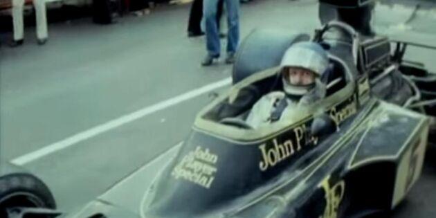 Se Ronnie Petersons intervju - 3 år innan dödsolyckan
