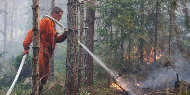 HD: Skogsbranden 2014 ska ses som trafikskada