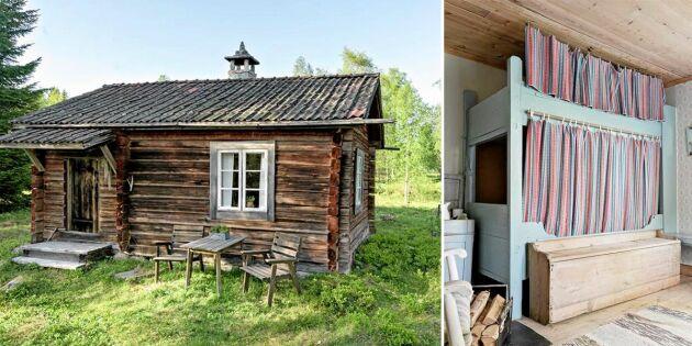 Den gamla fäbodstugan i Dalarna kan bli din