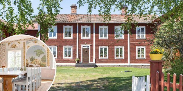 Underbar världsarvsgård i Hälsingland till salu