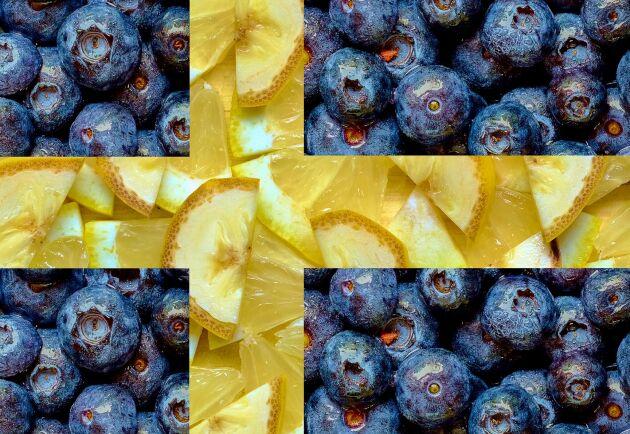 Bara Sverige svenska blåbär har.