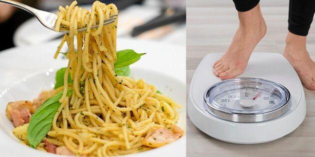 Forskning visar: Njut av pasta – och gå ner i vikt
