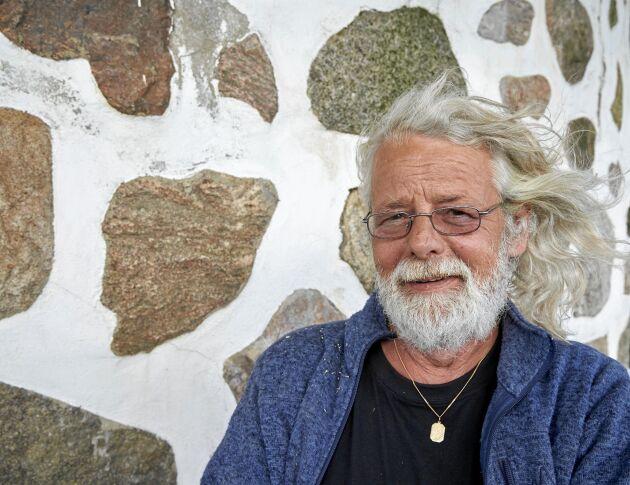 Envishet och en förkärlek för lite galna projekt drev Ulf Järgren genom kvarnbygget.