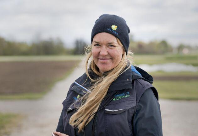 Anna Larsen, kommunikatör, HIR Skåne.