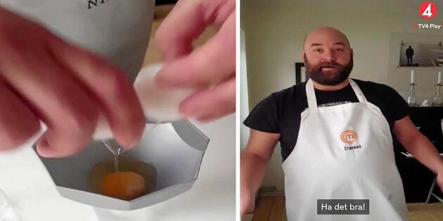 """Mästerkockens smarta äggknep: """"Många tycker det är svårt"""""""
