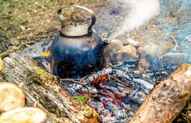 Eldningsförbud innebär att du inte får elda utomhus i skog eller nära skogsområden.