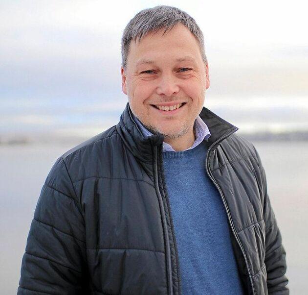 Johan Molin, vd Siljans Chark