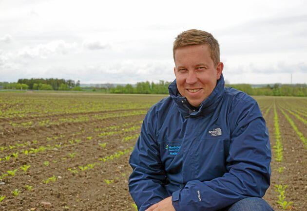 Anders Rydén, chef Agricenter på Nordic Sugar.